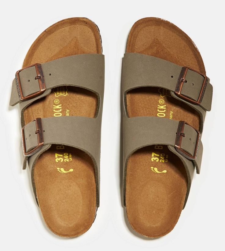 Stone Birkenstock Arizona Sandal have been wanting a pair of these for a while.. So freakin comfortable