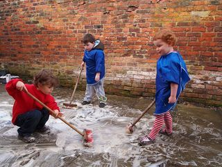 blog post on continuous provision outdoors #abcdoes #continuousprovision #eyfs