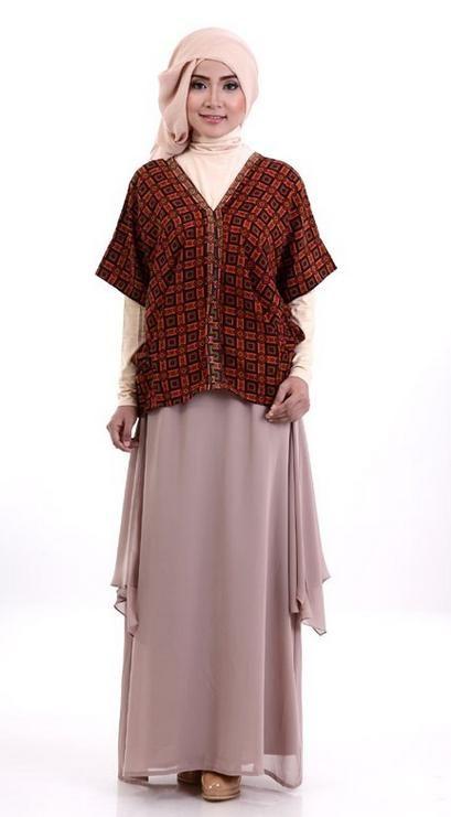 Ini Dia Koleksi Katalog Baju Batik Modern Untuk Kerja