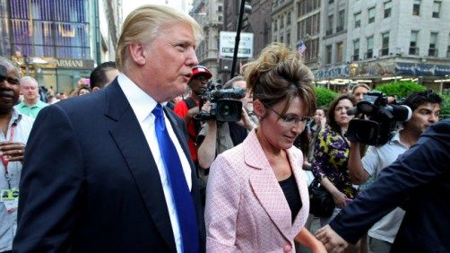 Donald Trump Promises To Put Sarah Palin In His Cabinet If He Is Elected President