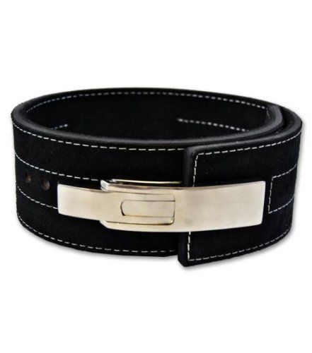 Powerlifting Belt with Lever Buckle - Weightlifting - Crossfit - http://www.myhomegymequipment.com/weight-lifting-belt/powerlifting-belt-with-lever-buckle-weightlifting-crossfit/