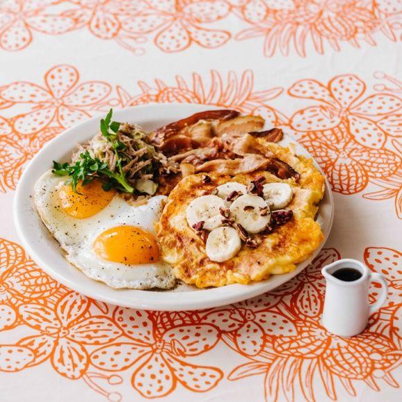 レトロなハワイを味わえる、全国16店舗「ジェイエス パンケーキ」のハワイフェア