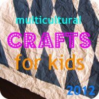 Prepping for Multicultural Crafts for Kids 2012 - simple Analogy