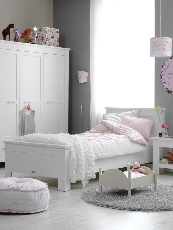 #kinderkamer #bed #kast