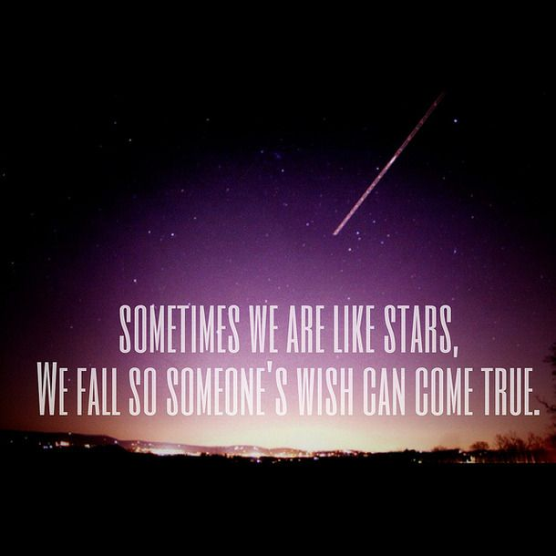 Shooting Star Quotes And Sayings. QuotesGram