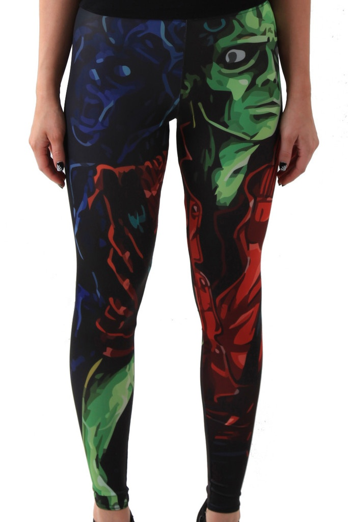 Michael Jackson Zombie Tribute Leggings