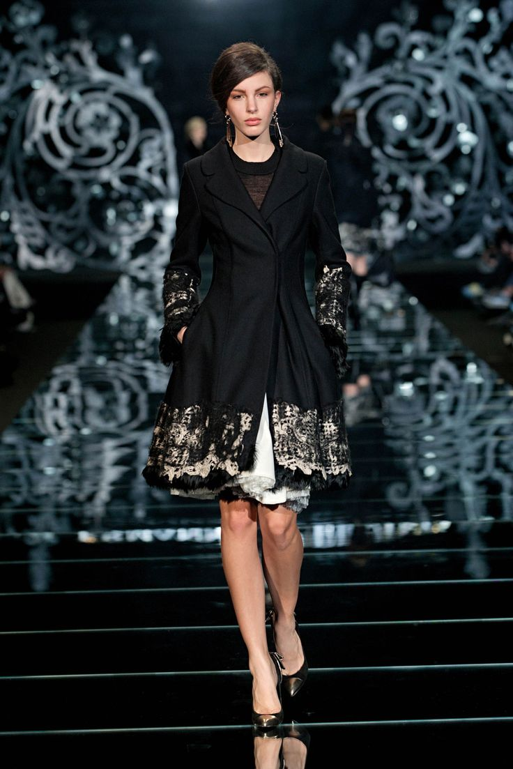 Gorgeous!    Ermanno Scervino - Woman Fw '12, Images, Look 32