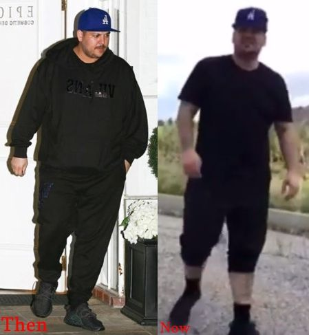 Rob Kardashian Weight Loss Before And After Pictures