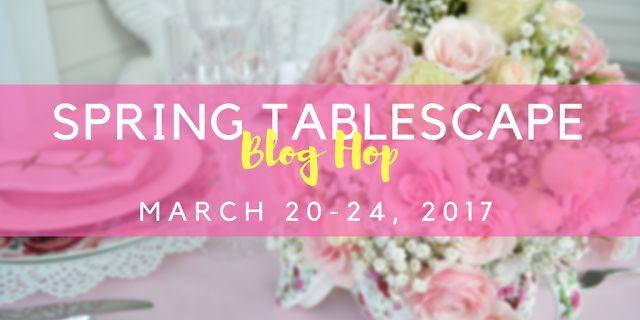 My Kentucky Living :Spring Tablescape Blog Hop