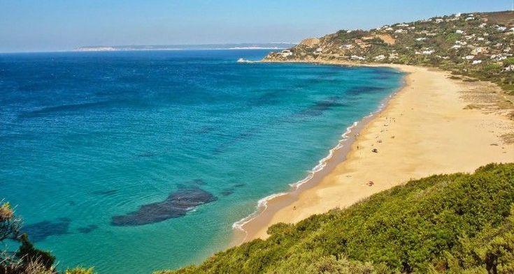Playa de Los Alemanes Cádiz. LAS MEJORES PLAYAS DE ANDALUCIA