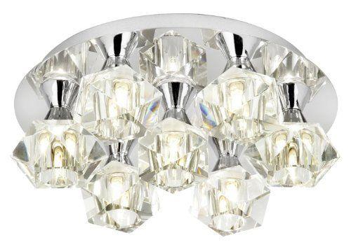 Cromo lucido semi incasso a soffitto montaggio Illuminazione - HP025368 , http://www.amazon.it/dp/B007WQCXQE/ref=cm_sw_r_pi_dp_eSRpsb040VTAQ