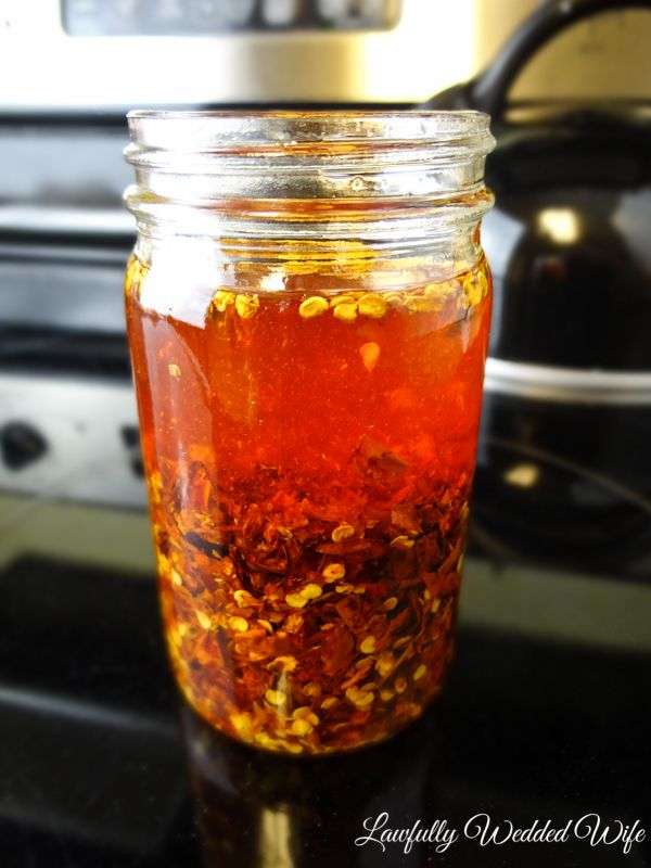 Another post courtesy of my husband! If there's something that he's an authority on (besides Lord of the Rings), it's spicy food. He's a spicy food fiend and wants to share one of his favorite flaming hot recipes with you. Enjoy! —— Tonight I am going to teach you how to make hot chili oil. …