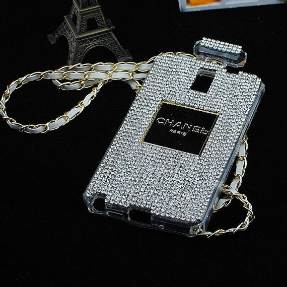 Free Shipping 3D Rhinestone Full Diamond  Perfume Bottle TPU  Shiny Cover Case For Samsung Galaxy Note3 S4 S5 iPhone 5 5S iPhone 4 4S