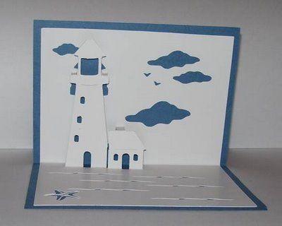Susan Bluerobot: LIGHT THE WAY pop up card ( plus pattern for Sure cuts a lot)