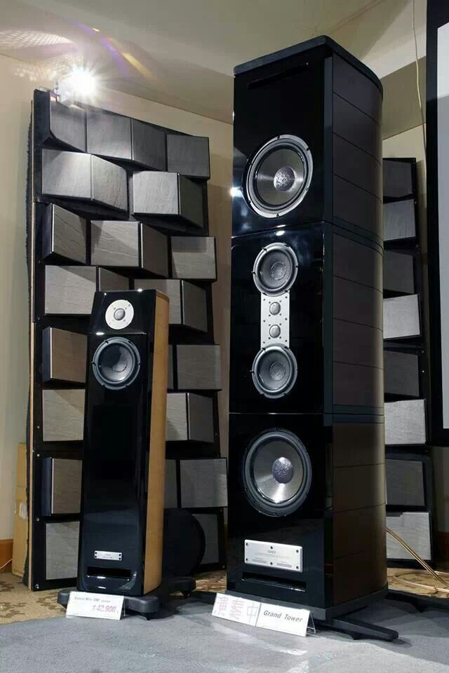 Usher Grand Tower Audio Amp Sound Pinterest Ushers And