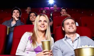 Groupon - $ 16.99 for Two Movie Tickets and Two Large Popcorns at Moviemax Theatres (Up to $32.50 Value) in Carlsbad. Groupon deal price: $16.99