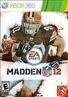 Madden NFL 12 (Microsoft Xbox 360 2011)