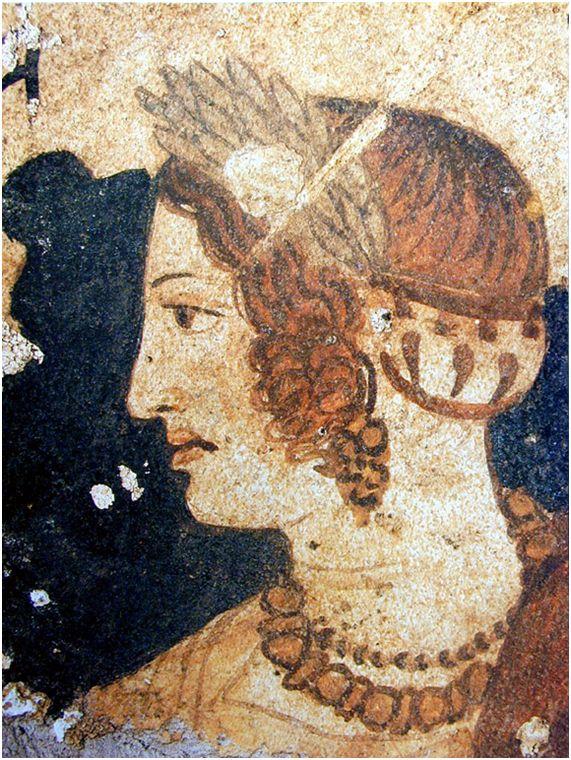 forma es vacío, vacío es forma: Arte Etrusco - frescos, pintura
