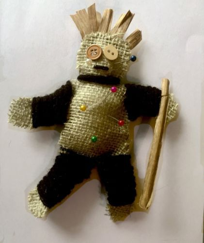 authentic voodoo doll from the Bayou | Voodoo dolls, Dolls ...