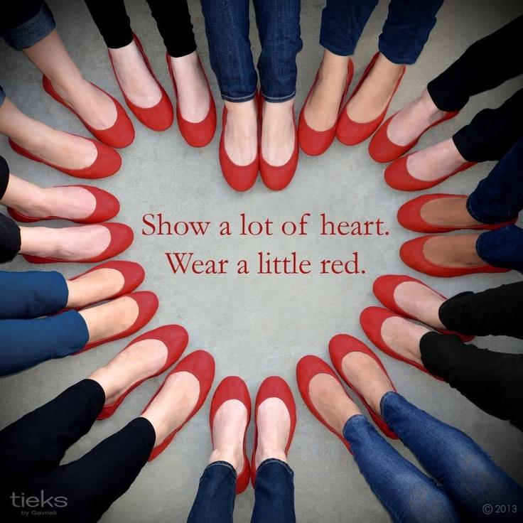 Women's heart health awareness day!!!!!  2/1/13  wear red!!!