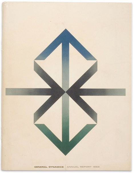 General Dynamics - Annual Report, Erik Nitsche, 1958