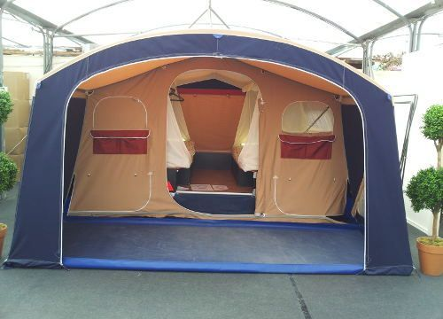 Trigano Galleon | Family Trailer tent in new Mocha colour for 2016 http://campingtentlove.org/