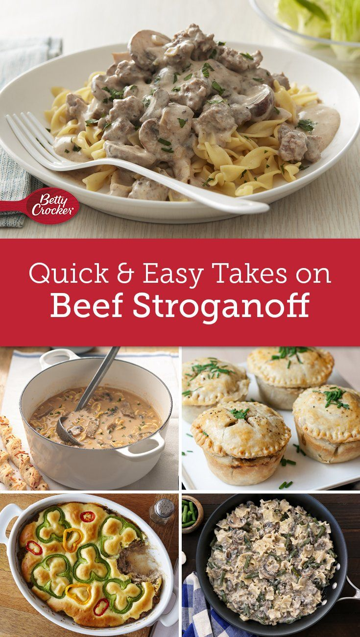 10 Reasons To Fall In Love With Beef Stroganoff All Over Again Beef Stroganoff Beef Recipes Stroganoff