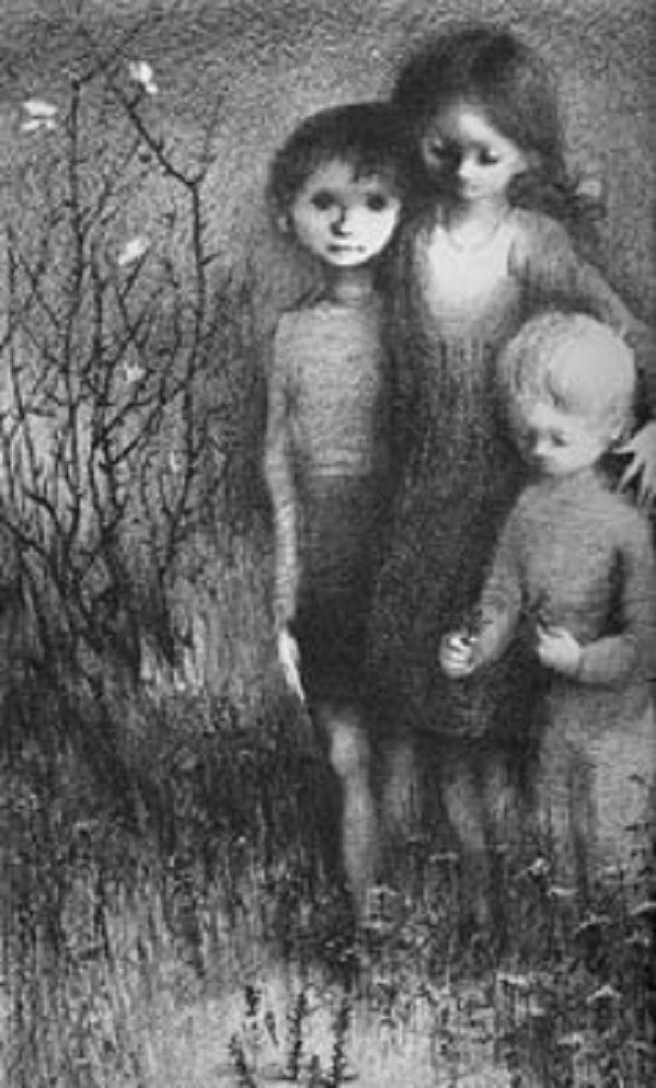 Illustration Ludmila Jiřincová  . K.J.Erben Kytice