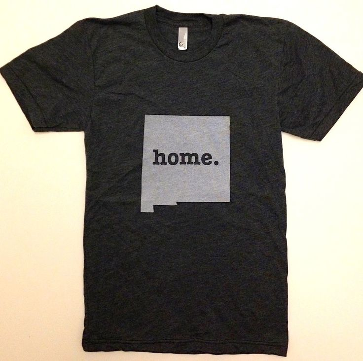 The #NewMexico Home T, $25.00 (http://www.thehomet.com/new-mexico-home-t-shirt/)