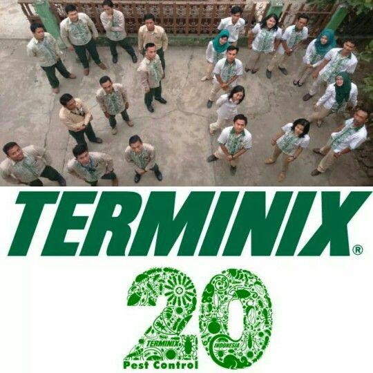Formasi 20 tahun jelang HUT Pest Control Terminix