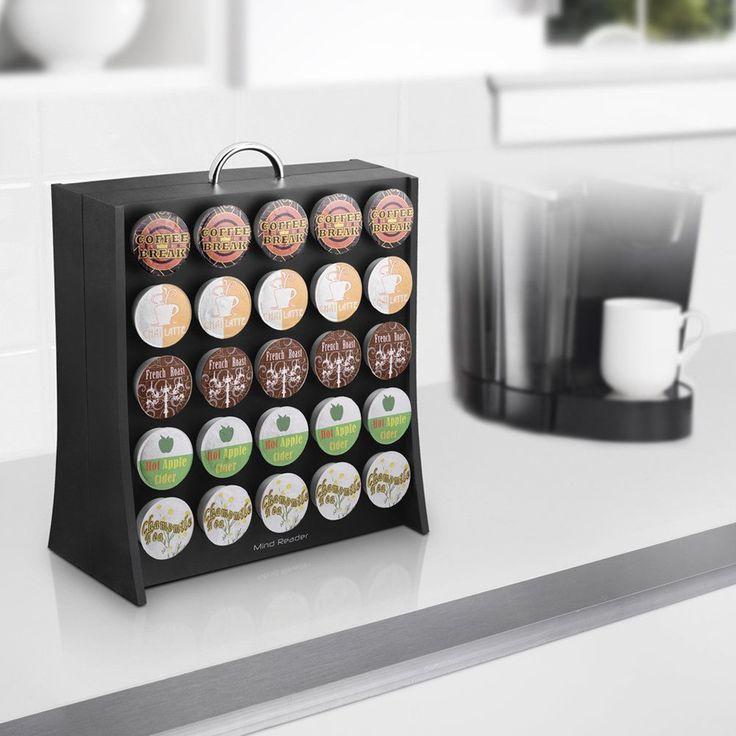 50 K Cup Holder Coffee Pod Storage Rack Cups Keurig Organizer Pods Kitchen Home #MR