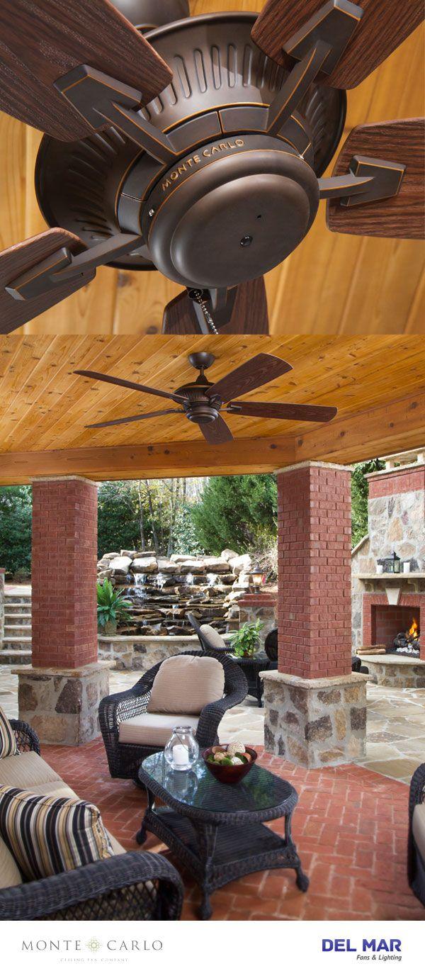 Mejores 138 imgenes de outdoor ceiling fans en pinterest para el monte carlo 5cy60rb cyclone roman bronze energy star 60 outdoor ceiling fan aloadofball Choice Image