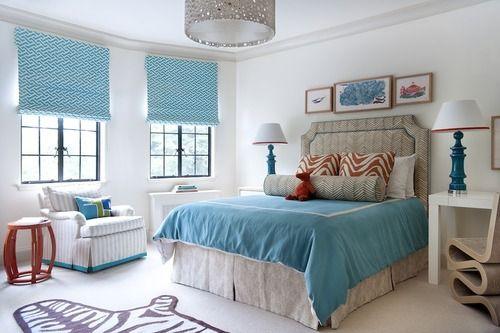 I LOVE BLUE AND WHITE. :)  Boston Based Interior Designer AnnsleyMcAleer - Style Estate -
