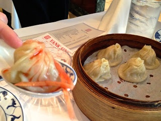 Hot and tangy Shanghai soup dumplings at Yank Sing, San Francisco/passioneats