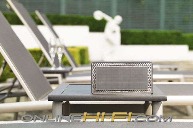 Bowers & Wilkins Bluetooth Speaker T7 - good for 18 solid hours of playback. More than enough time for a picnic in the park, or an evening round the barbeque.