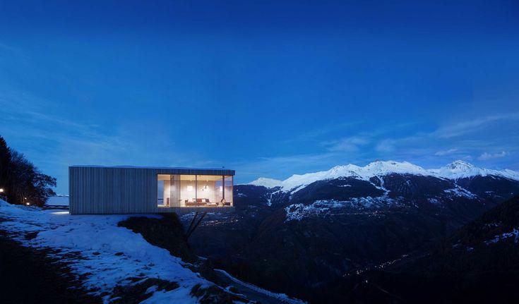 Switzerland house design. 3D visualisation. 3D architektur visualisierung. Architekturines vizualizacijos