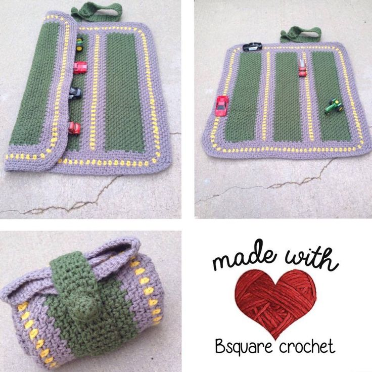 http://www.repeatcrafterme.com/2015/02/crochet-race-car-playnket-play-mat-and.html