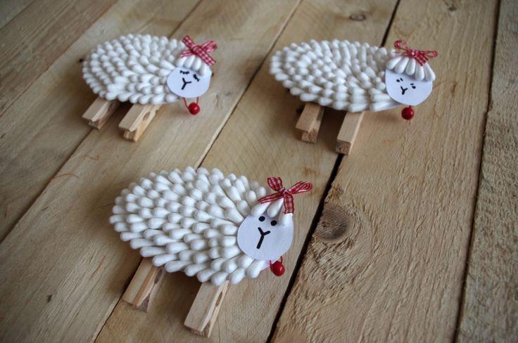 Velikonoční ovečky II. - Znovu přinášíme populární velikonoční ovečky, tentokrát mírně poupravené.