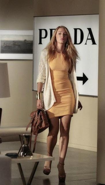 Serena Van Der Woodsen, Blake Lively style