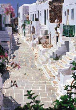 Houses in Folegandros island ~ Greece