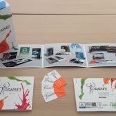 Brand Identity - Brochure - Business Card and  Package of presentation