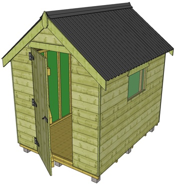 garden sheds ireland fencing and garages wexford kilkenny wicklow waterford cavan dublin meath westmeath louth kildare cork kerry clare longford sligo mayo - Garden Sheds Galway