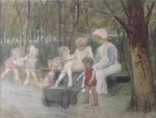 Joan Frans Berg, kunstschilder, schilderijen, expositie, Breukeleveen