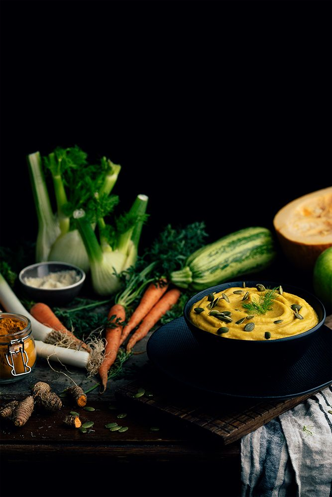 Crema de verduras asadas al horno - Receta de Los Tragaldabas
