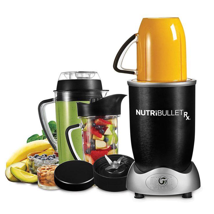 Buy NutriBullet Rx Blender Soup Maker, Black from our Juicers & Presses range at John Lewis. Free Delivery on orders over £50.