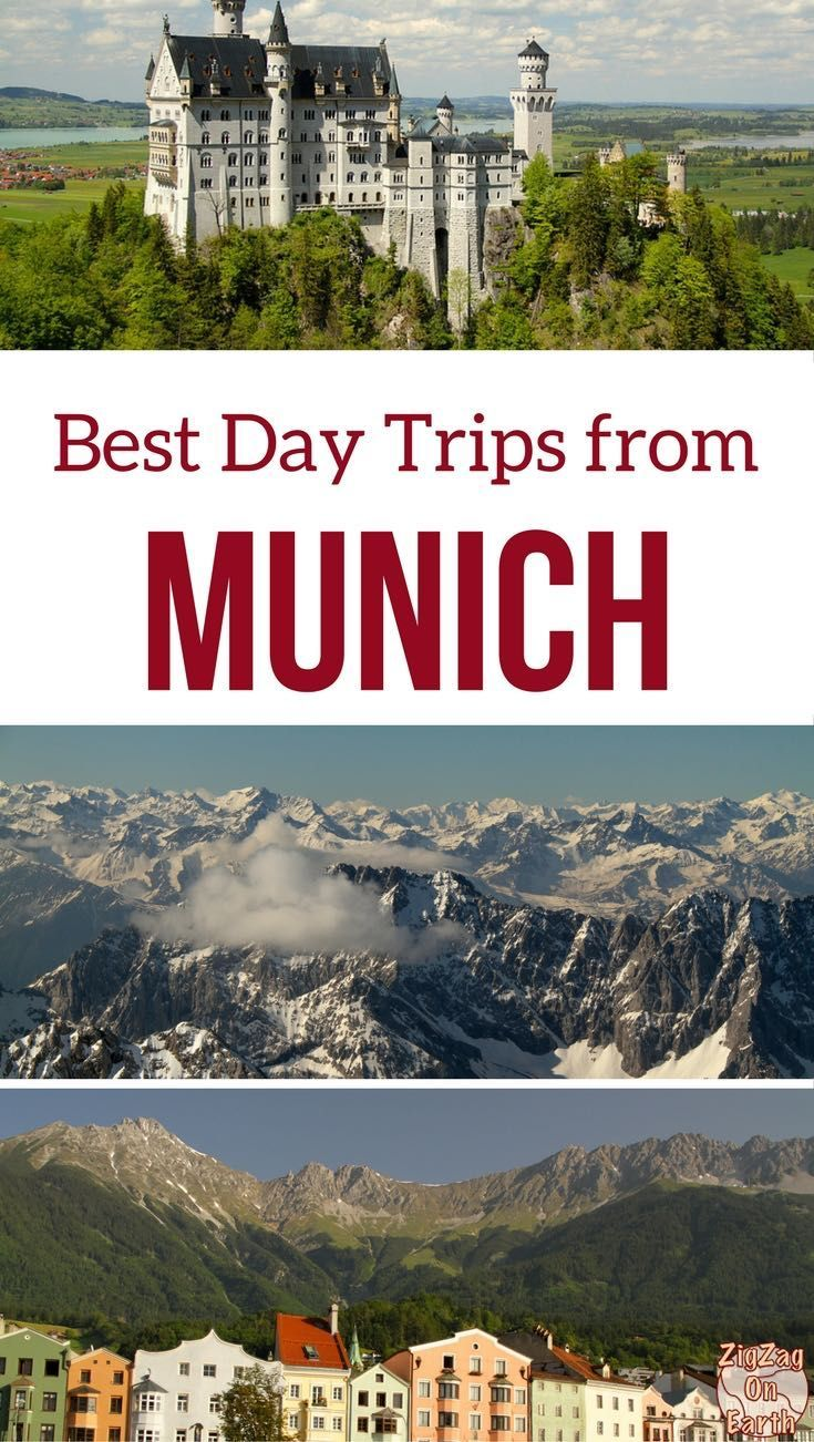Germany Travel Guide - Discover the best day trips from Munich Germany with castles such as Neuschwanstein, Lakes such as Königssee, towns and mountains | Germany itinerary | Germany Bavaria | Germany things to do