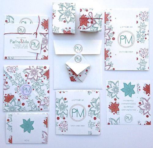 Matrimonio.it | #partecipazioni originali per il #matrimonio modello Hawaii coordinato #invite #cards