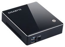 Gigabyte - Brix Desktop - Intel Core i3 - Black
