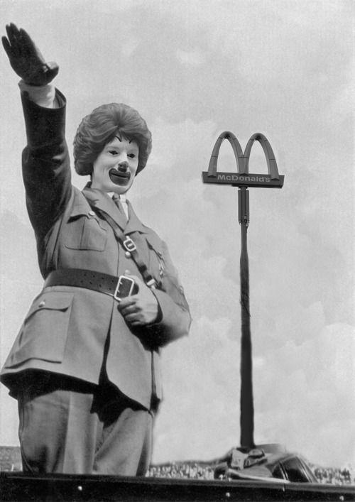 Heil McDonald's!