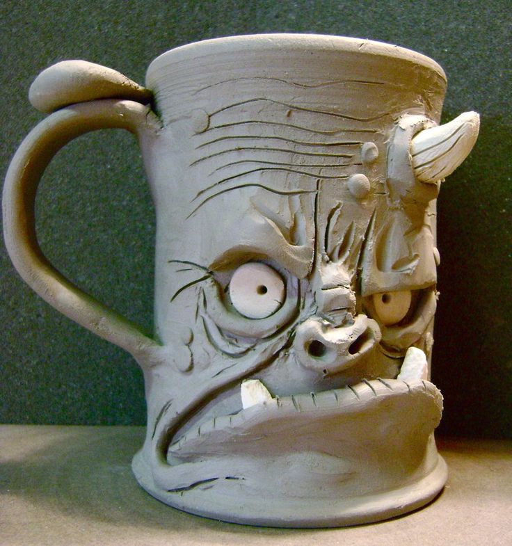 """ugly mug"" after the original ""ugly jugs"" made popular in the south"